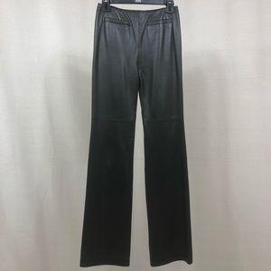 Oscar de la Renta Leather Pants